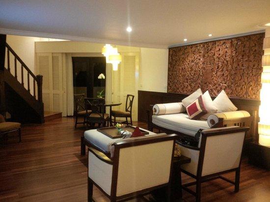 INTERCONTINENTAL Bali Resort: Main floor of the suite