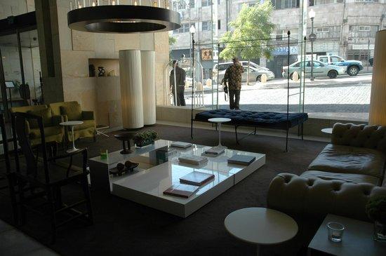 Mamilla Hotel: Light-filled Lobby