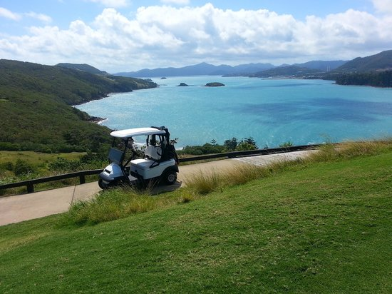 Hamilton Island Golf Club: huge course with stunning scenery