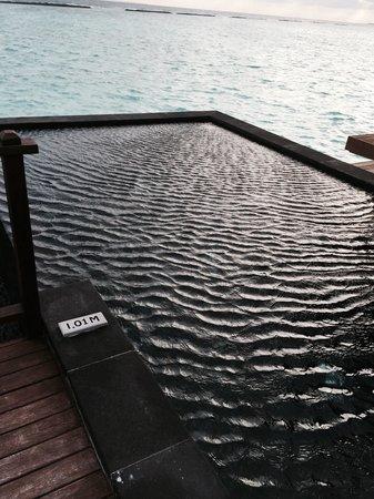 The Sun Siyam Iru Fushi Maldives: постоянный круглосуточный ветродуй с одной стороны острова, с другой прилет гидросамолетов