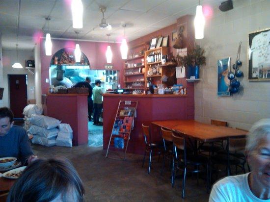 Cafe Ephesus: The kitchen