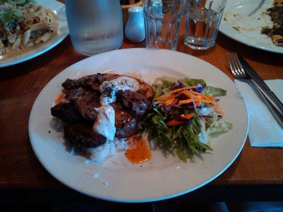 Cafe Ephesus: Steak and chicken