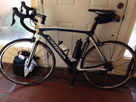 Cal Coast Adventures : The Orca Orbea road bike - brand new, with Ultegra compact double