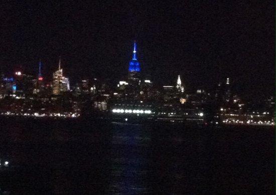 Hyatt Regency Jersey City: View from our room
