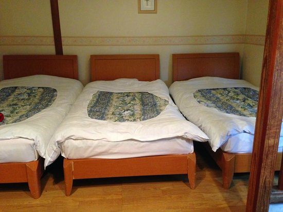 Hotel Daiki : Room with 3 single beds.
