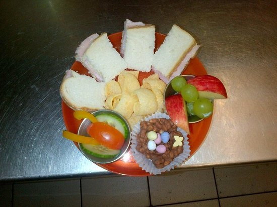 The Coffee House: toddler lunch plate