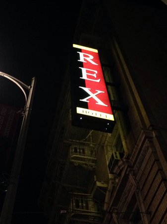 Hotel Rex, a Joie de Vivre hotel: Can't miss it