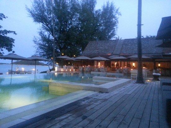 SALA Samui Choengmon Beach Resort : sala restaurant.