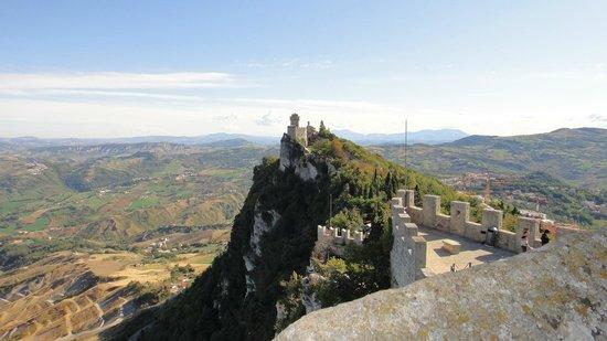 Cesta Tower: Вид на соседнюю башню