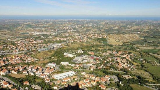 Cesta Tower: Вид с башни