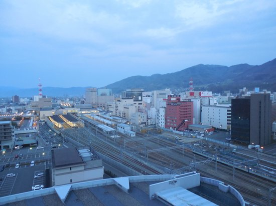 HOTEL Mielparque Nagano: 客室からの眺め