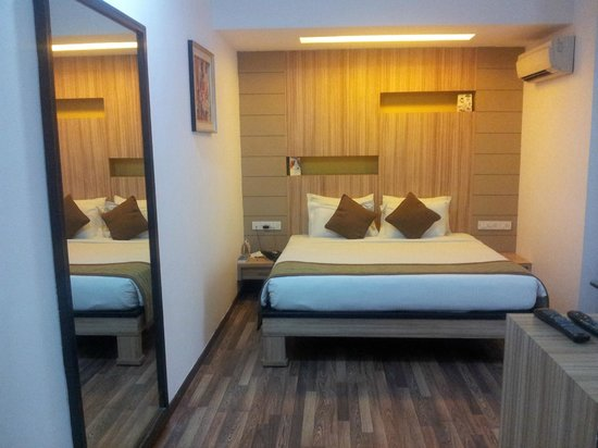 Hotel City Centre Residency: The room