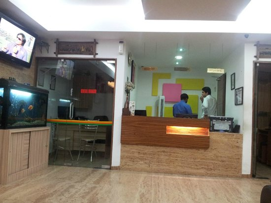Hotel City Centre Residency: Another view of the reception