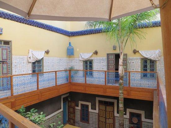 Riad Zara : interieur du riad