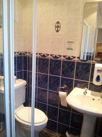 The Coachman Hotel & Restaurant: Room 8 bathroom