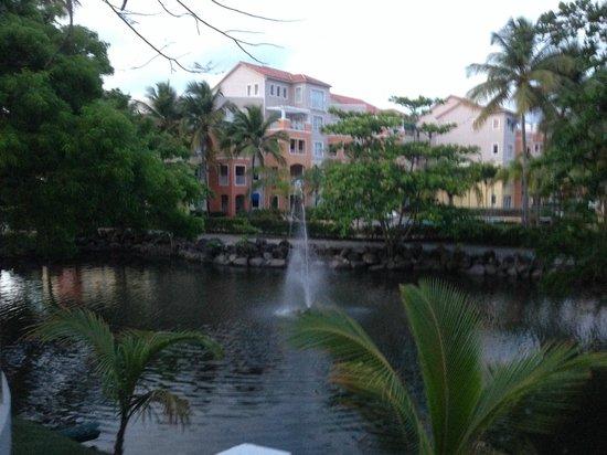 Wyndham Garden at Palmas del Mar: Fountain view