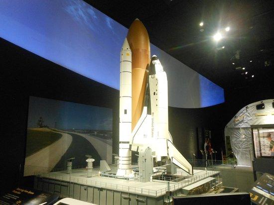 Museo Nacional del Aire y el Espacio: Space Shuttle