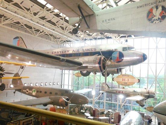 Museo Nacional del Aire y el Espacio: DC 3