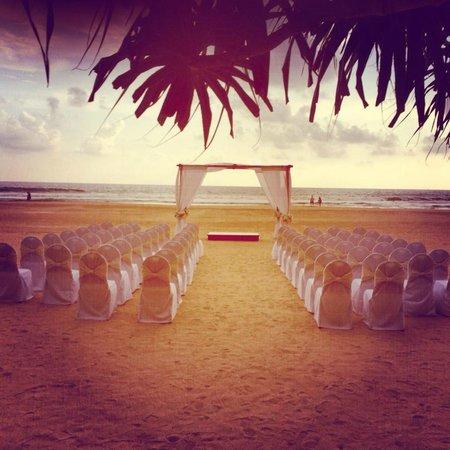 Taru Villas - Rock Villa : Beach area - Wedding