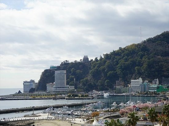 Atami Seaside Spa & Resort: 景色は良いです。