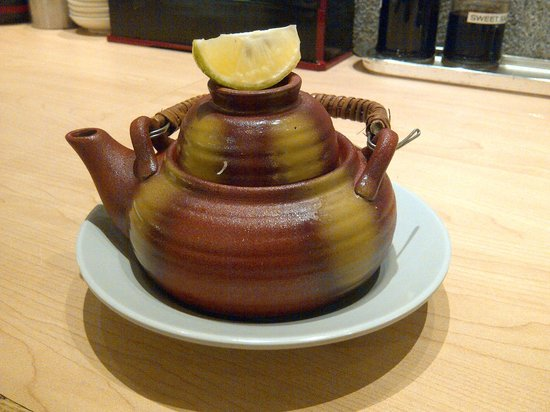 Sushi Tei - Ngee Ann City : flavourful dobinmushi (tea pot soup)