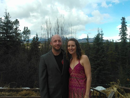 Hidden Valley Bed and Breakfast : Just before the wedding!