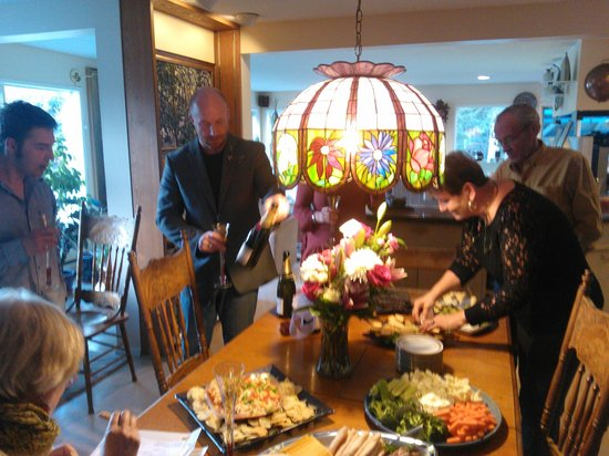 Hidden Valley Bed and Breakfast : The wedding celebration - Eva and Mel were amazing!