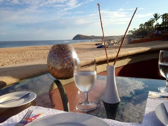 Sheraton Grand Los Cabos Hacienda del Mar : View from Cortez Restaurant