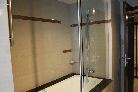 Swiss-Belhotel Rainforest: the shower