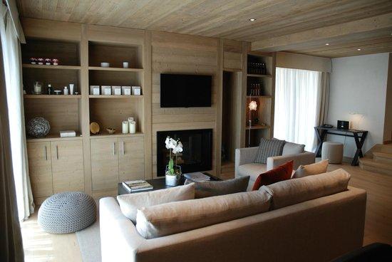 Le Grand Chalet & Spa : Lounge
