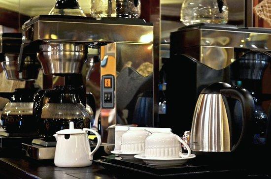 Miro Hotel : caffè americano e thè!