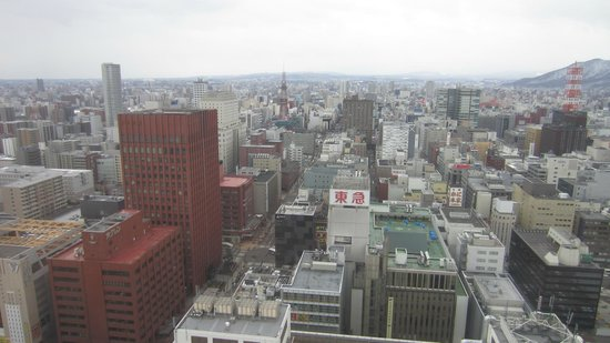 JR Tower Hotel Nikko Sapporo: Room View