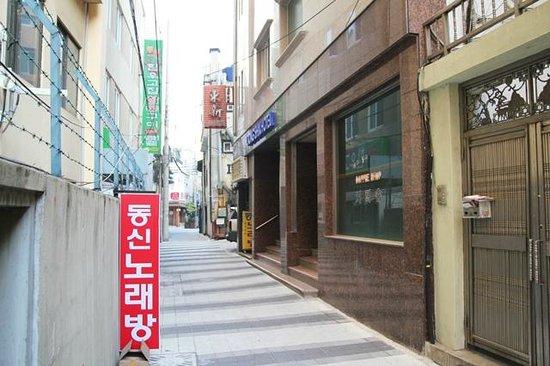 Dongshin Hotel: ホテル玄関