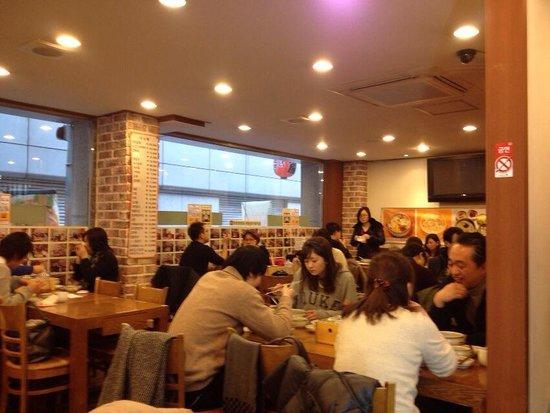 Myongdong Yongyang Juk : 明洞 栄養粥☆店内