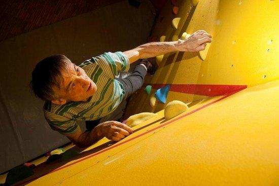 JUFA Hotel Montafon: Recreational facilities - climbing hall