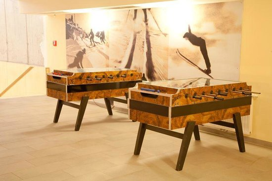 JUFA Hotel Montafon: Recreational facilities - kicker