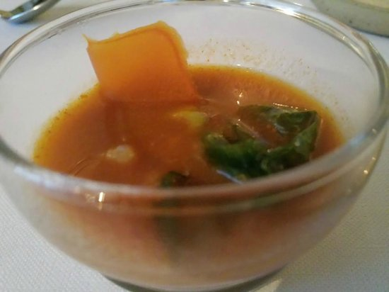 Beulings: carrot soup