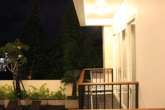 The Jimbaran View: the balcony