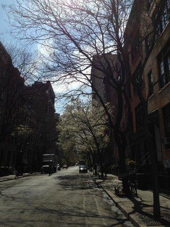 Greenwich Village : Les ruelles arborisées