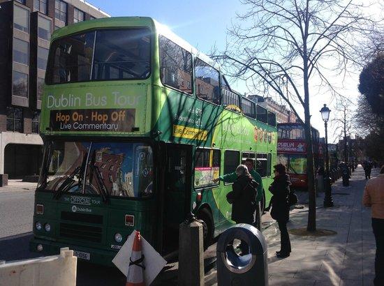 Dublin Bus - Hop on Hop Off Tour: автобус