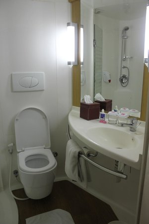 Ibis Bali Kuta: small bathroom