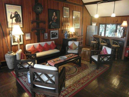 La Folie Lodge: Wohnzimmer, atemberaubend