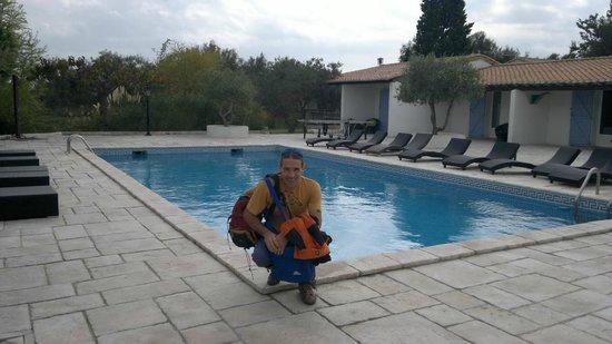 Mas de Calabrun : la fantastica piscina