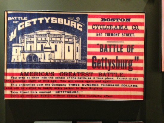 Gettysburg Museum and Visitor Center : Gettysburg Cyclorama