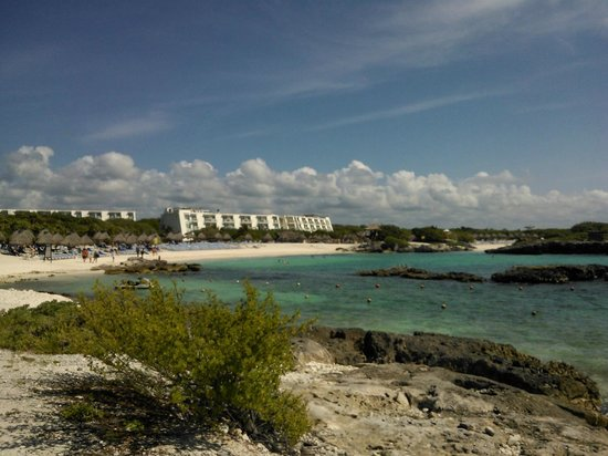 Grand Sirenis Riviera Maya Resort & Spa : La playa del hotel