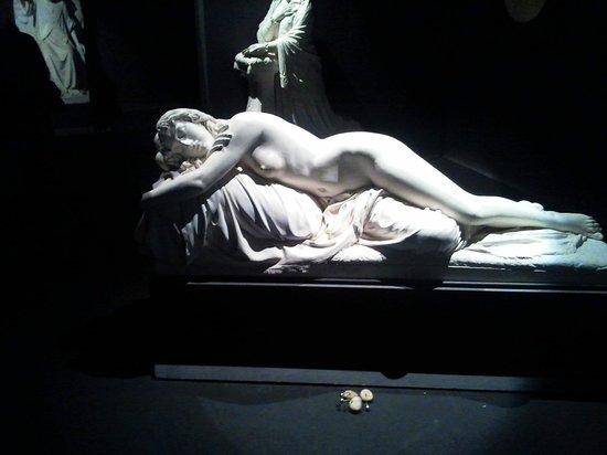Complesso Museale Santa Maria della Scala: Un'opera in gesso della Sala San Giuseppe di Tito Sarrocchi