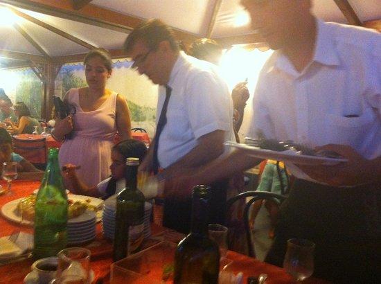 Hotel Club Costa Verde : gezellig bij het diner