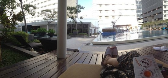 Pullman Jakarta Indonesia: My fave place, pool