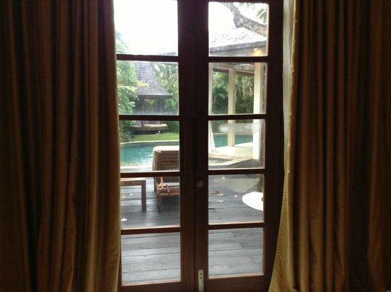 Villa Kubu Boutique Hotel & Spa: view from masters