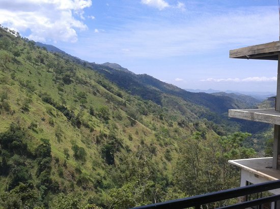 Ella Mount Heaven Hotel: great view